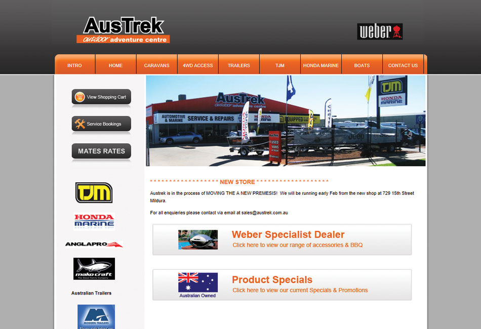 Austrek Website
