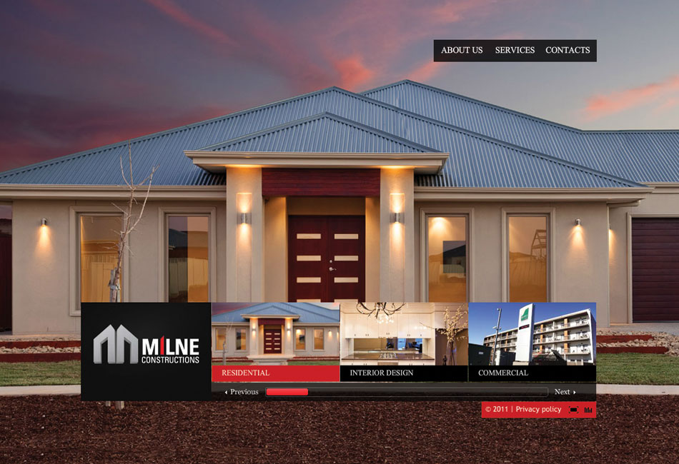 Milne Constructions Website