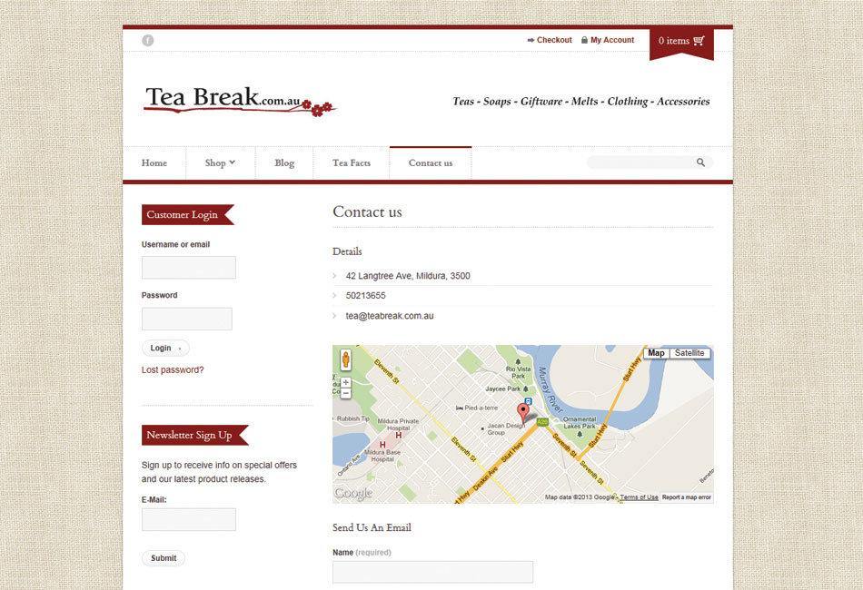Teabreak Website